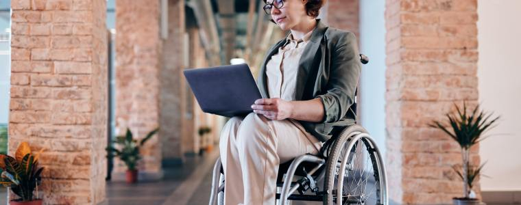 disabled woman setting up special needs trust